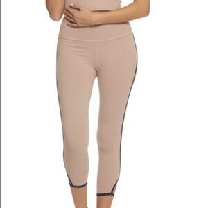 Beyond Yoga Slip Open high waist Capri NWT small